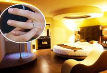Do engagement ring worth to hide? The employees of this motel decided to do an act of charity by advertising an engagement ring hidden in a room on the day of the Valentine by a married man.