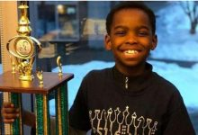 Homeless refugee child (8) becomes a chess champion