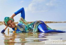 First model in burkini on cover of Sports Illustrated