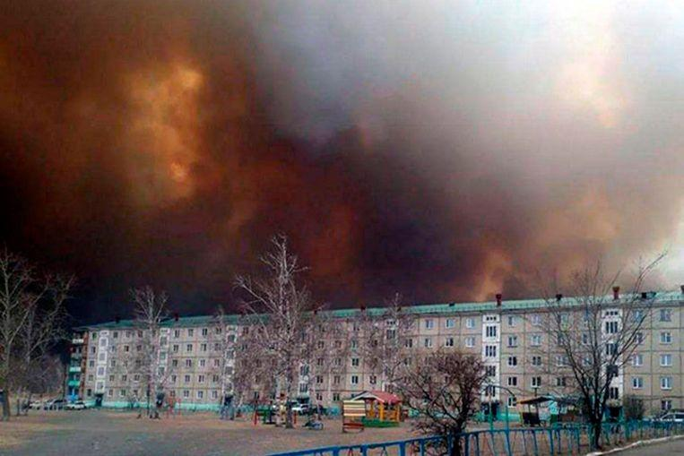Dozens injured by Siberia forest fires