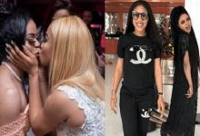 """Tonto Dikeh reacts to """"4 months pregnant for Bobrisky"""""""