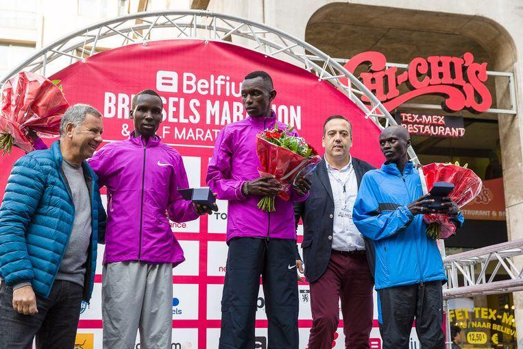 Kenyan marathon runner Felix Kirwa receives a doping suspension, just like his sister
