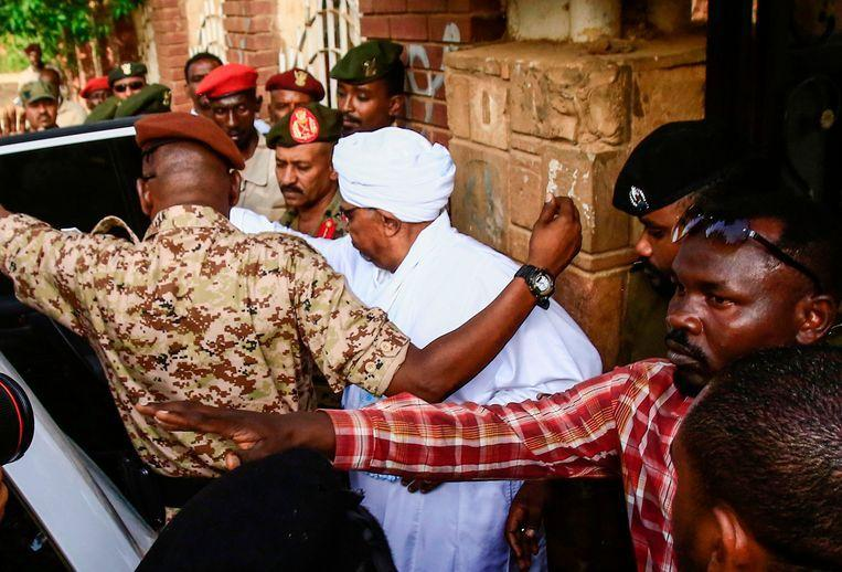 Deported President of Sudan brought to parquet