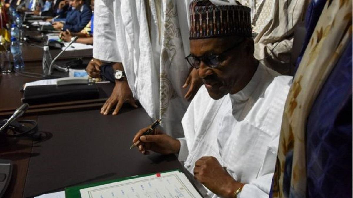 Nigeria signs African Union Free Trade Agreement
