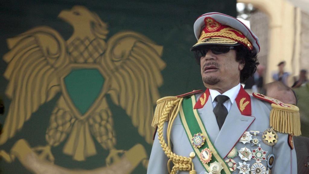 Muammar Gaddafi, 69 years old