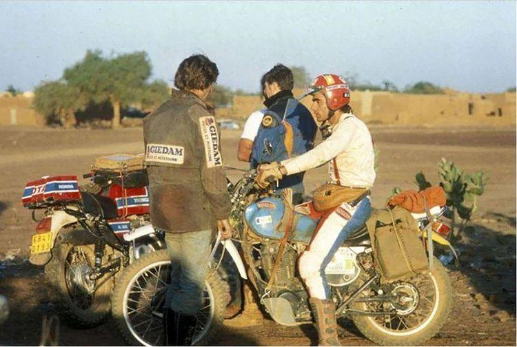 He got lost in the desert, created the Dakar, starred in a movie and died trying to rescue pilots