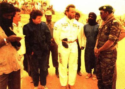 Thierry Sabine lost in desert, created Dakar and died in desert