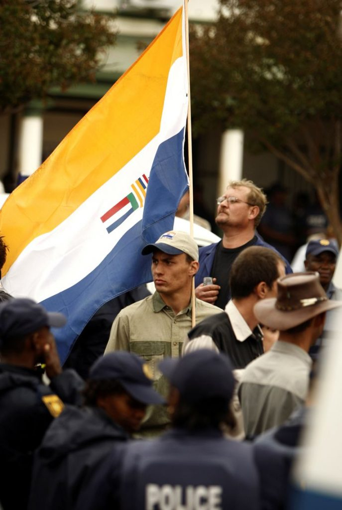 South Africa limits the use of apartheid flag