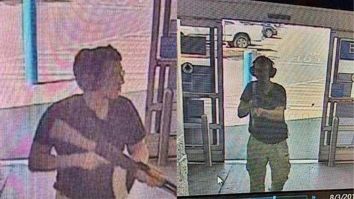 The man who shot 20 people in the El Paso shopping center