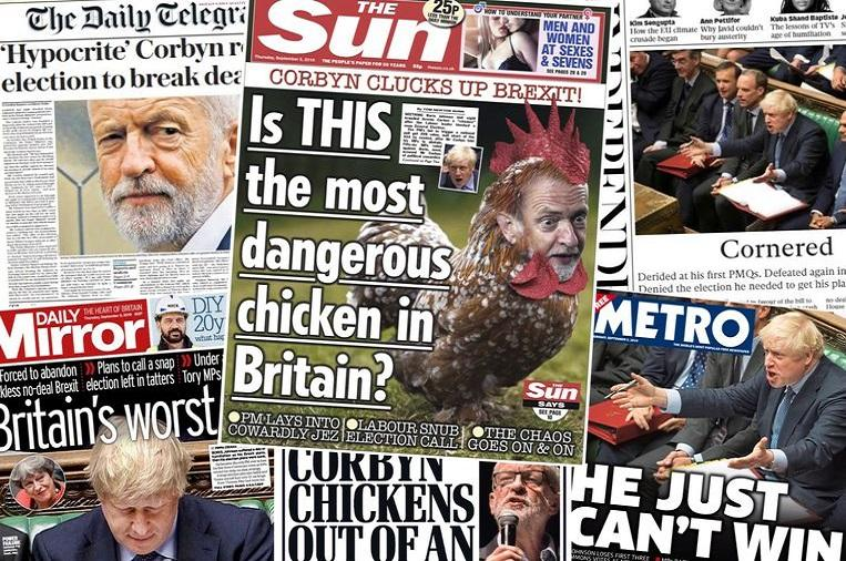 """""""Is this the most dangerous chicken in Britain?"""""""