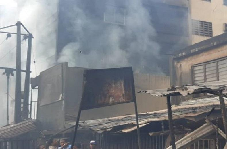 Fire razed Ochanja market after Tanker explodes in Onitsha