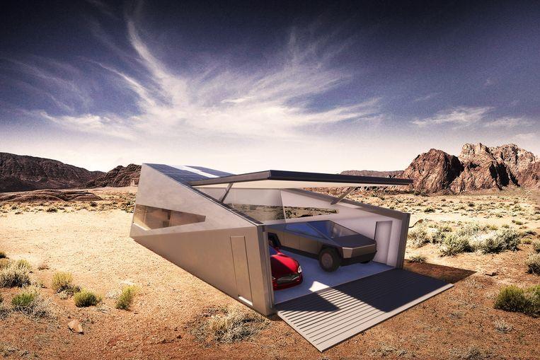 Tesla Cybertruck now also has its own garage: Cybunker