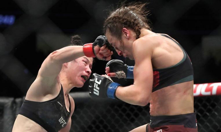 MMA isn't a sport for wimps: almost unrecognizable after cage fight