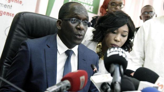 The Minister of Health of Senegal, Abdoulaye Diouf Sarr
