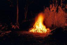 "Ghanaian priests sacrifice to deities to expel ""evil spirits"" responsible for coronavirus"