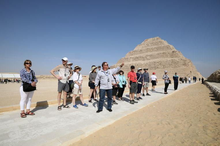The oldest pyramid in Egypt reopened after renovation