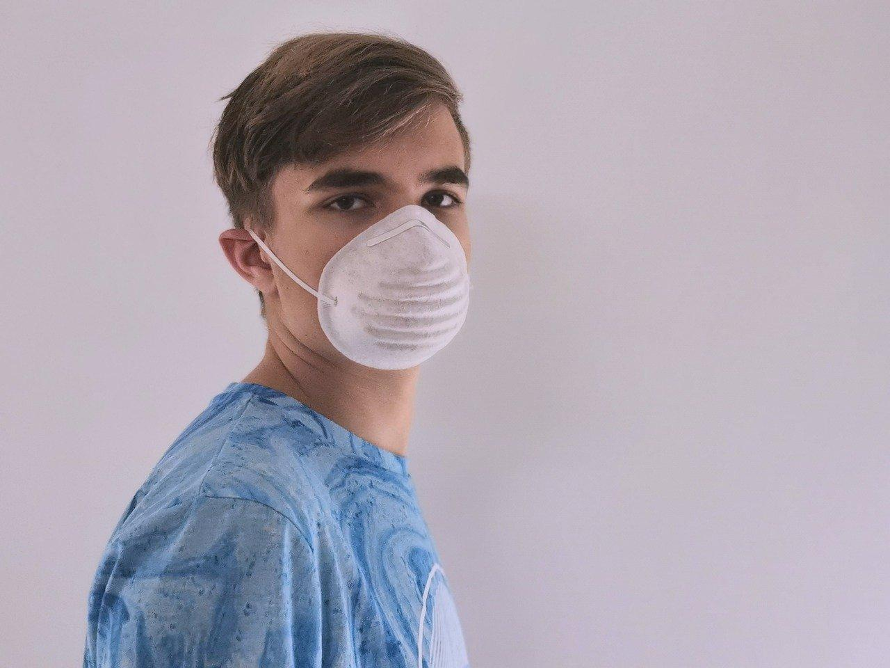 You should pay attention to this when wearing a mouth mask