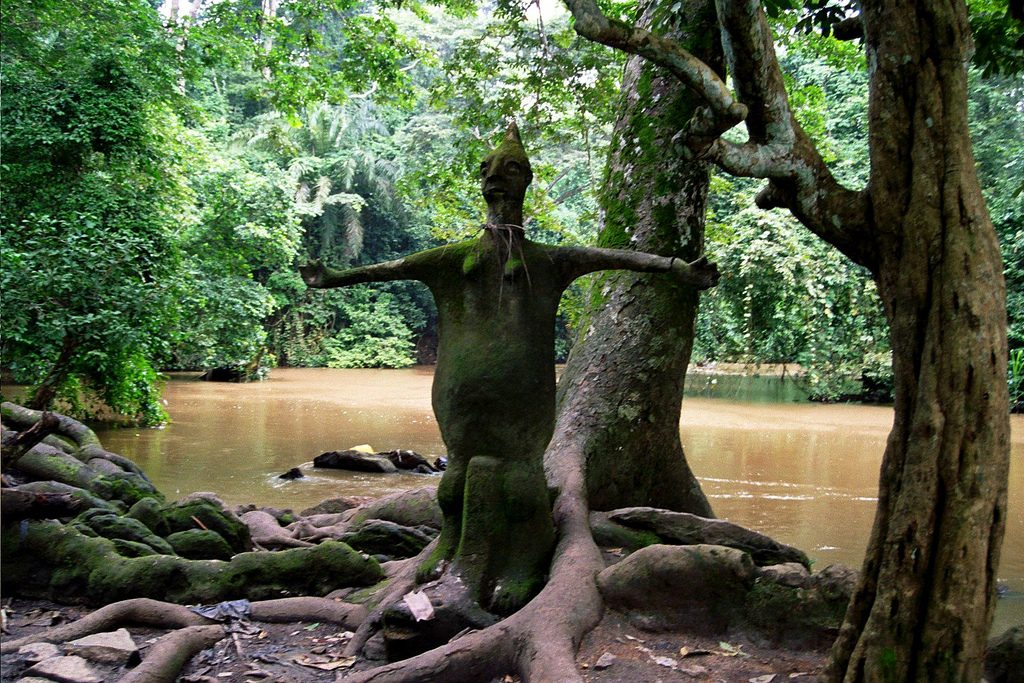 Osun-Osogbo Sacred Grove in Nigeria, an unsolved mysteries in africa