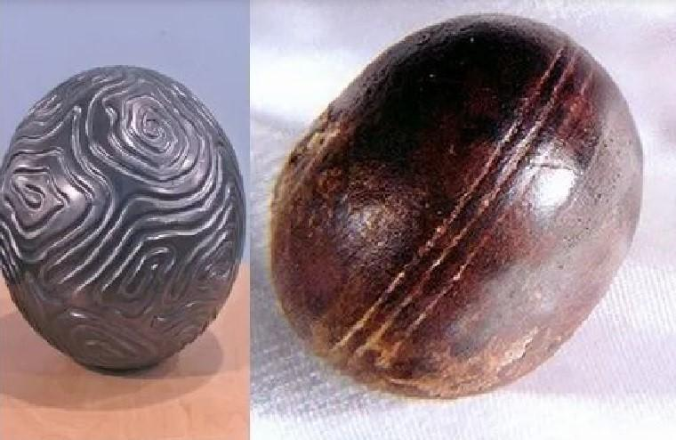 Grooved sphere rock in South Africa
