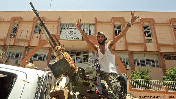 Libya's parliament asks the Egyptian army to intervene