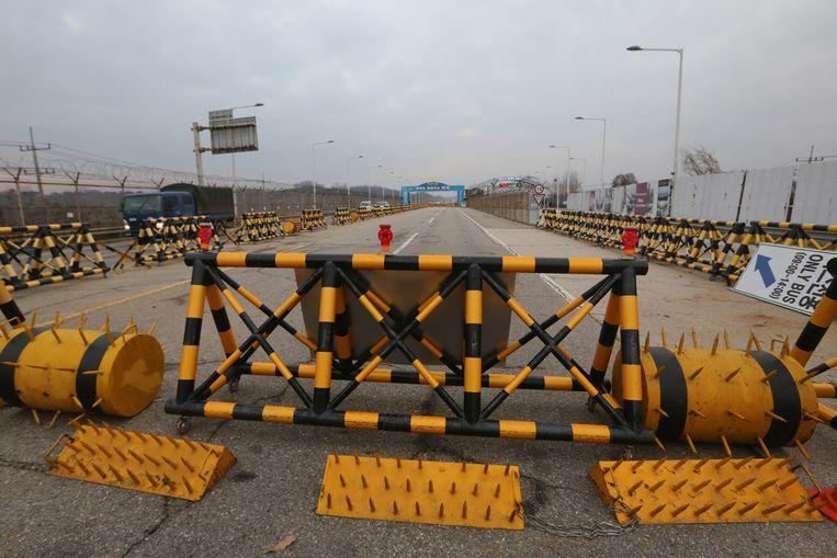The border between South and North Korea is closely guarded.