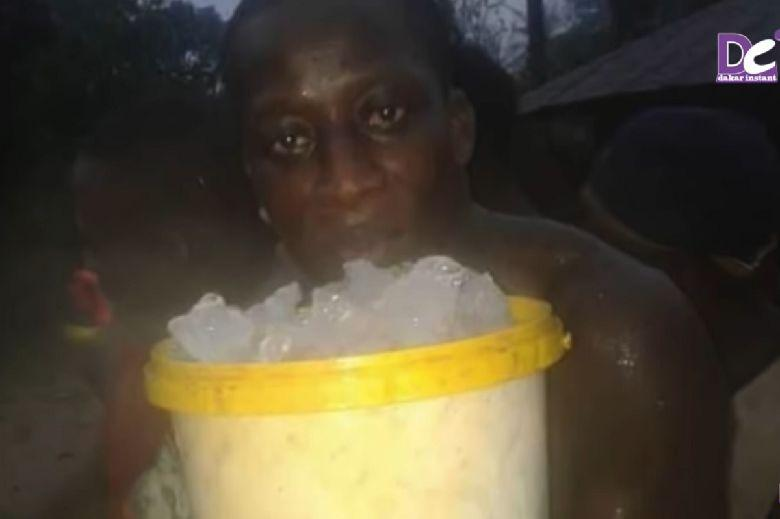 Instead of liquid water, ice is raining on Senegal (Video)