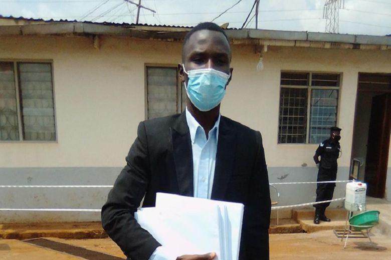 In Uganda, 19-year-old student aspiring for president