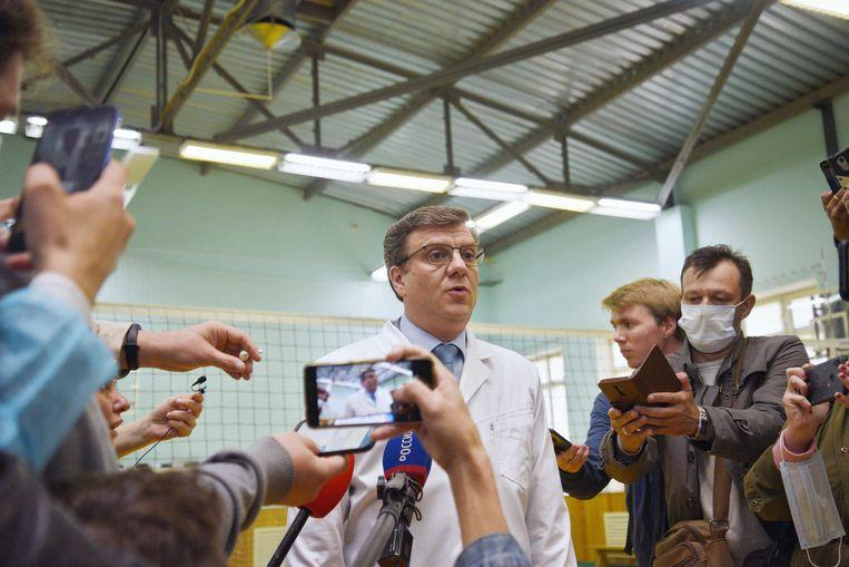 Chief doctor of the hospital in Omsk Aleksander Moerachowski