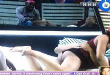 See Erica's natural curve during romantic time with Kiddwaya