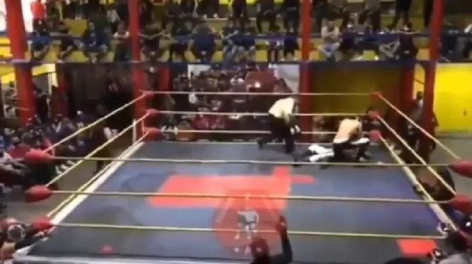 Mexican wrestler (26) died in the ring after a punch