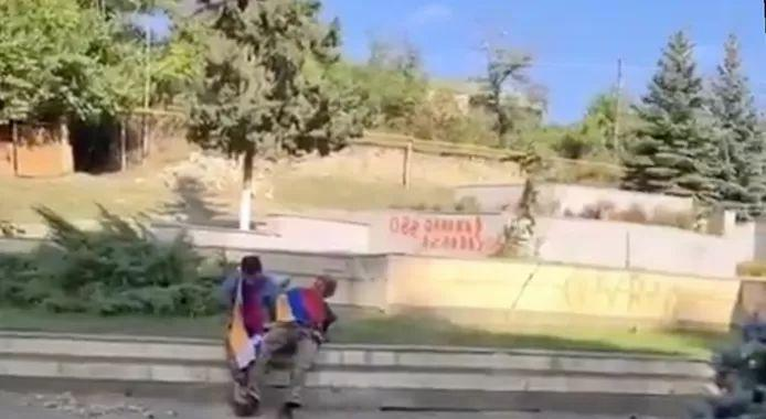 """Azerbaijan: """"Images of the execution video of Armenians are fake"""""""