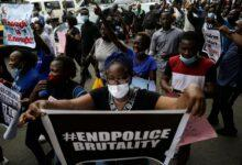 Nigerians in South Africa says no to the killing of protesters