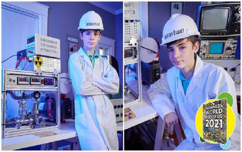 At 12, he became the youngest builder of a functioning nuclear reactor