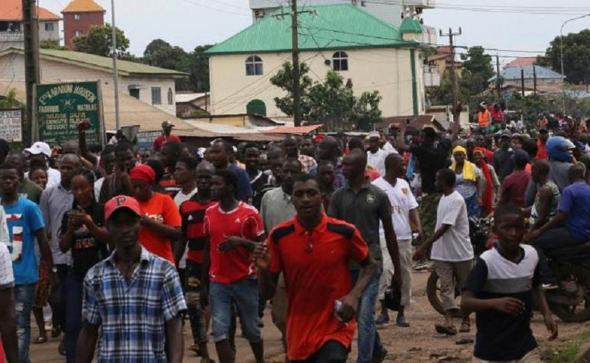 In Guinea, 46 died and hundreds injured, according to UFDG