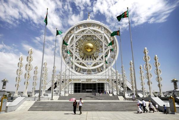 Ashgabat – formerly called Poltoratsk between 1919 and 1927 – is the capital and largest city in Turkmenistan