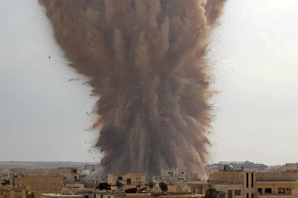 In Syria, the Arab Spring sparked a civil war that continues today. Pictured: Strike against Syrian government forces by militants from the Ahrar al-Sham brigade, a member of the Islamic Front coalition, October 14, 2014.