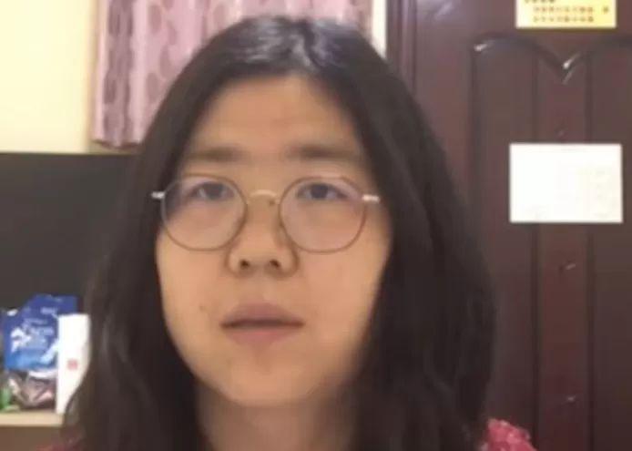Chinese citizen journalist Zhang Zhan (37)