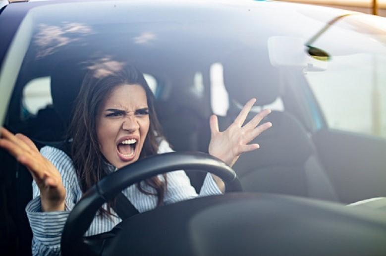 Anger outburst