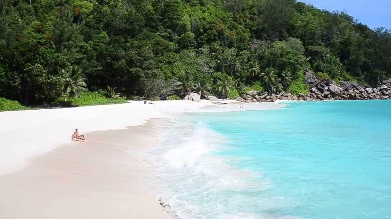 Anse Georgette beach, Seychelles