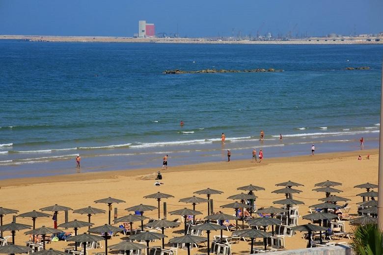 Beach Agadir, Morocco