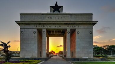 The top 10 most prominent cities in Ghana