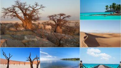 The 10 most beautiful countries in Africa