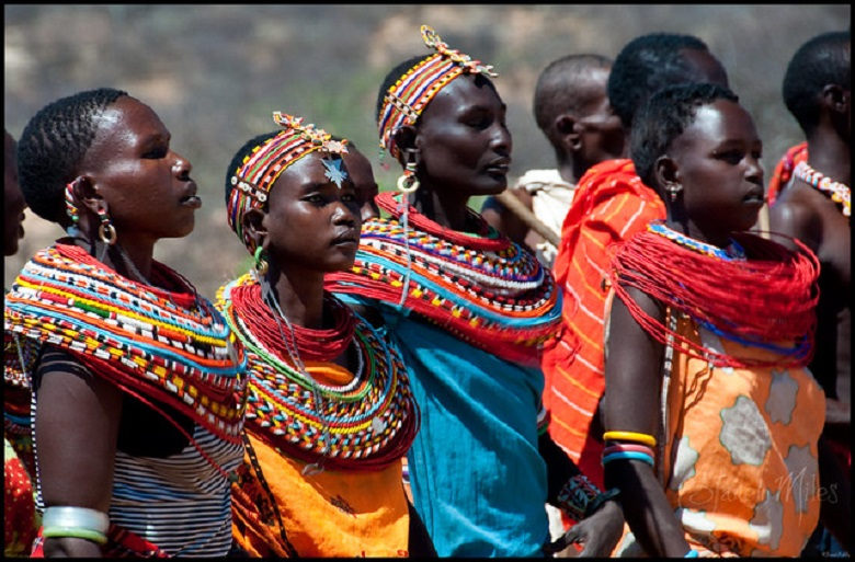 "Samburu tribe: either Lokop or Loikop, Samburu means ""butterfly"""