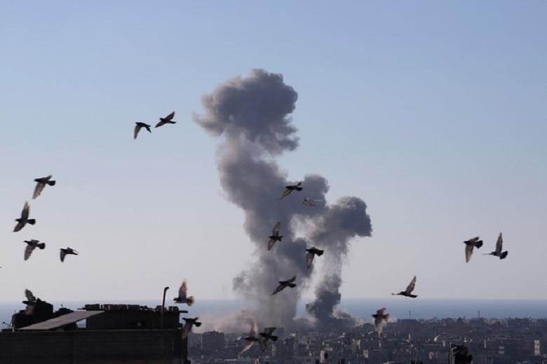 Hamas military wing attacks Israeli chemical plant
