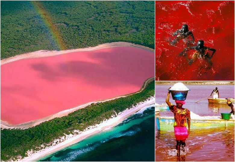 """White salts, pink water, golden sands: The mysterious """"Dead Sea"""""""