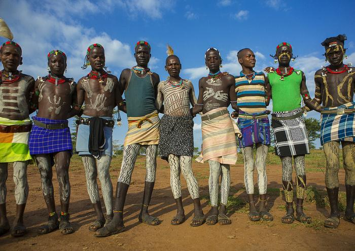 African fashion style of hamar