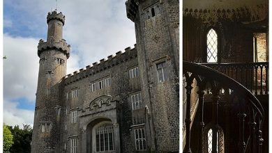 """Fans of mysticism strive there: secrets behind Irish """"haunted castle"""" Charleville"""