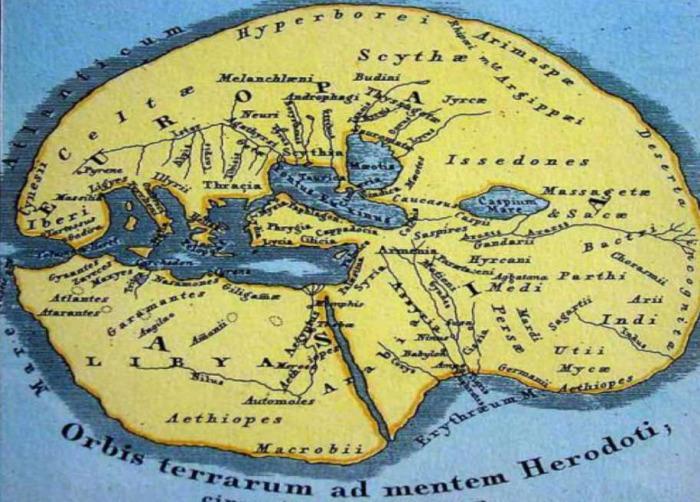 Map of Herodotus