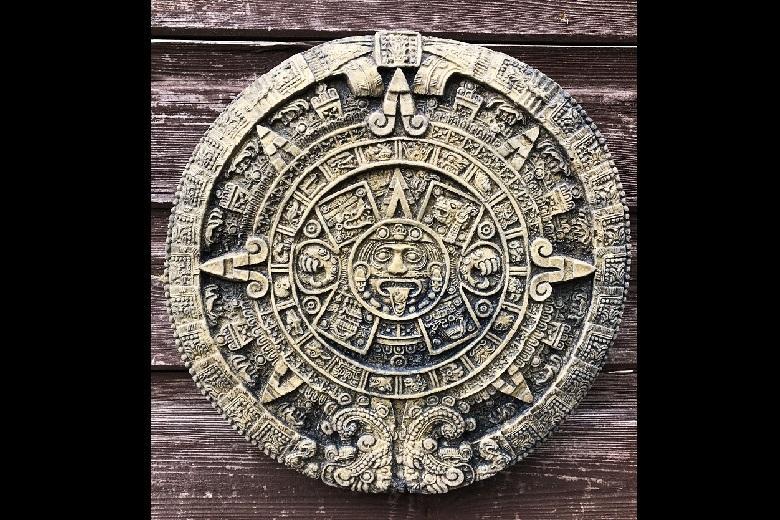 Mayan stone calendar