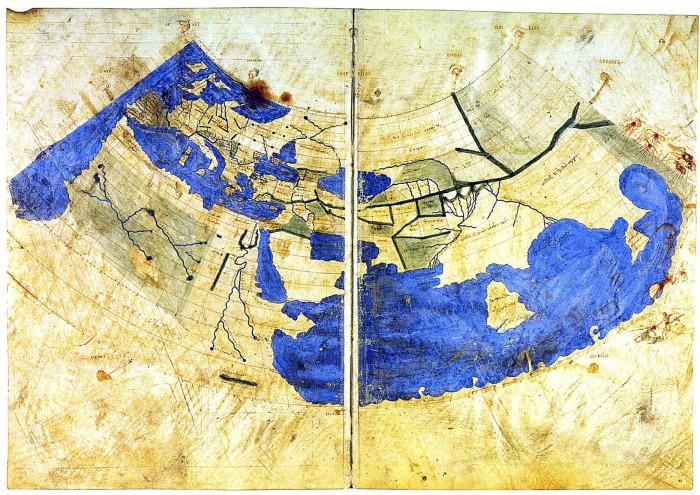 This is how Ptolemy saw our world